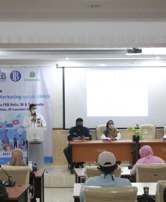 FEB Unila Holds Digital Marketing Training for UMKM